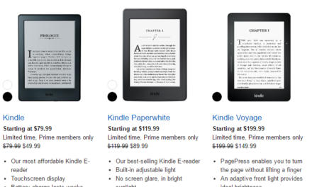 Prime deal: Amazon taking up to $50 off Kindle e-readers