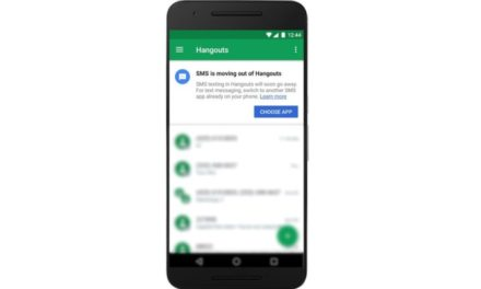 Google plans to remove SMS support from Hangouts on May 22