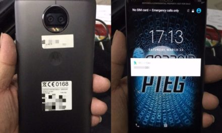 Reported Moto X 2017 images leaked, showing possible hardware specs