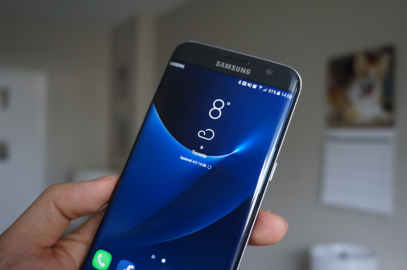 You can download Galaxy S8 weather app for your Galaxy S7