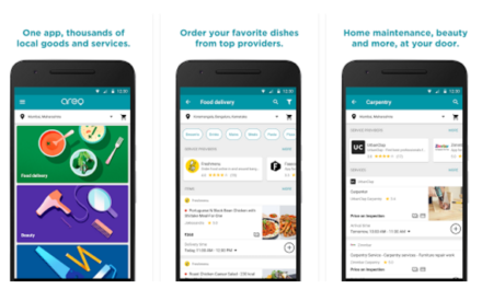 Order dinner or book a handyman in India with Google's new Areo app