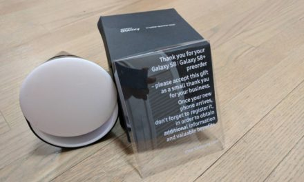 You may get a free speaker dock if you buy the Galaxy S8 from Samsung