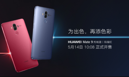 The Huawei Mate 9 gets two new fun colors in China