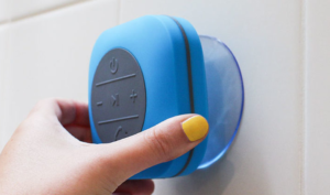 Never miss a call again with the XXL Shower Speaker
