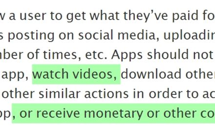 Did Apple Just Kill Incentivized Video Ads Again? Nobody's Sure!
