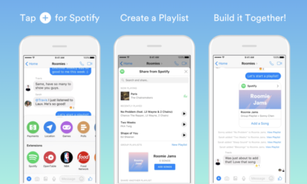 You can now create Spotify group playlists with friends inside Messenger