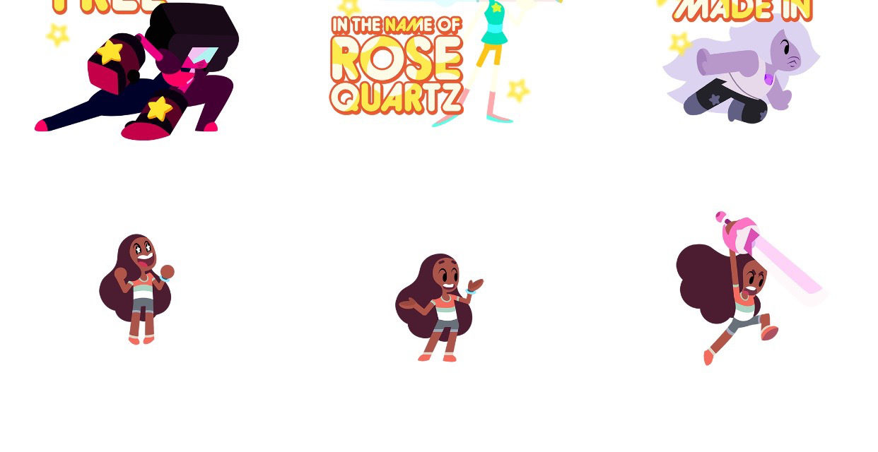 'Steven Universe Stickers – The Light Series' Features 'Attack the Light' and 'Save the Light' Characters