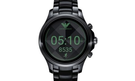 Armani's own Android Wear 2.0 smartwatch will launch on September 14