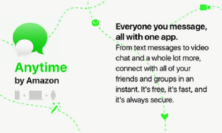 Amazon may be working on a new messaging service called 'Anytime'