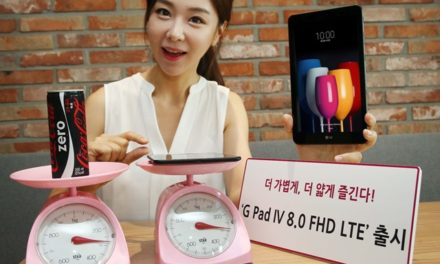LG's latest tablet is lighter than a can of soda
