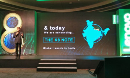 Lenovo K8 Note with dual camera launched in India