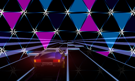 Stylish Futuristic Runner 'Neon Drive' Updated With New Level, Mode and Much More