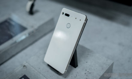 You can now order the Pure White Essential Phone